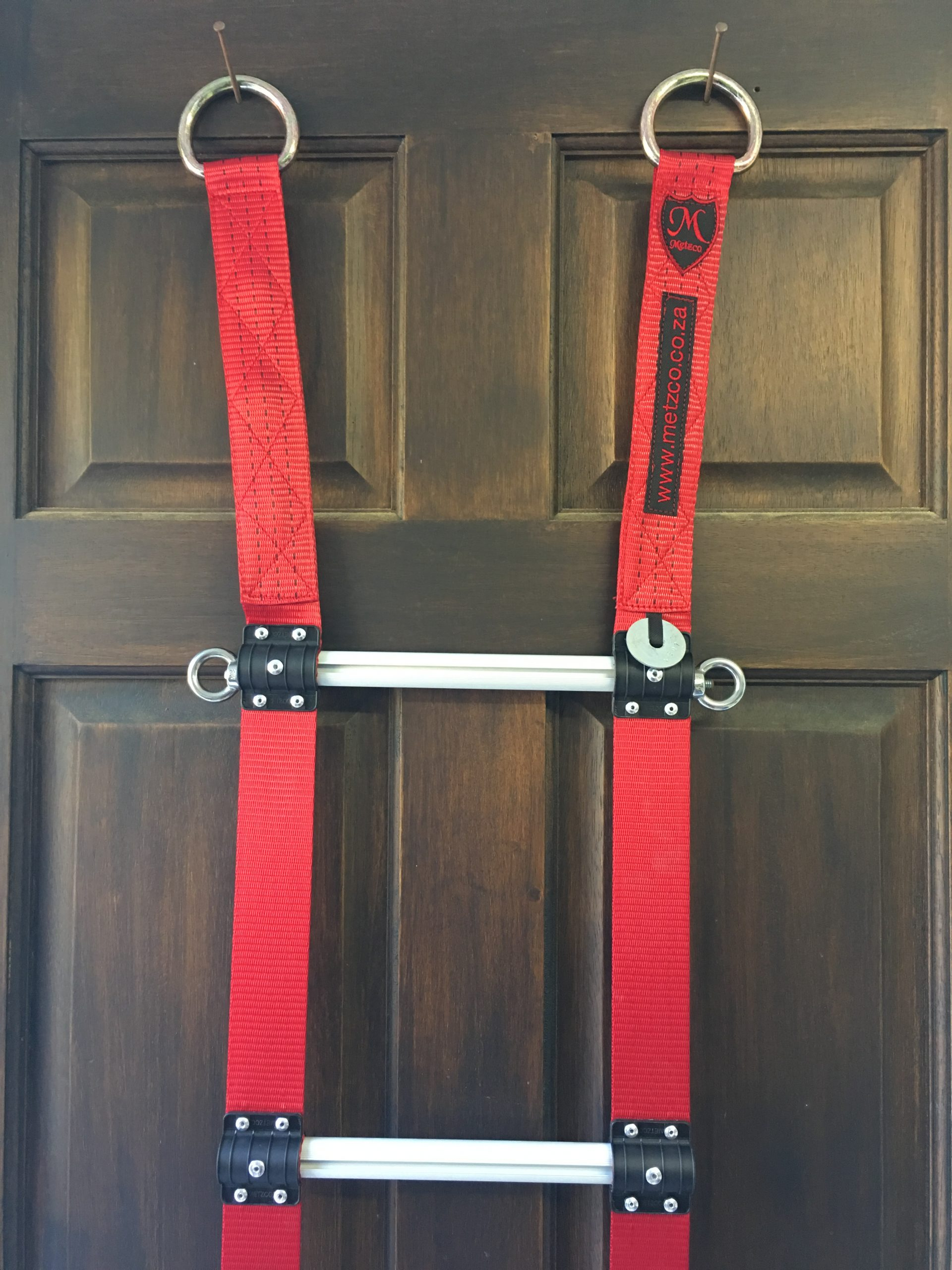 Fire Retardant Rope Ladder with Eyelets