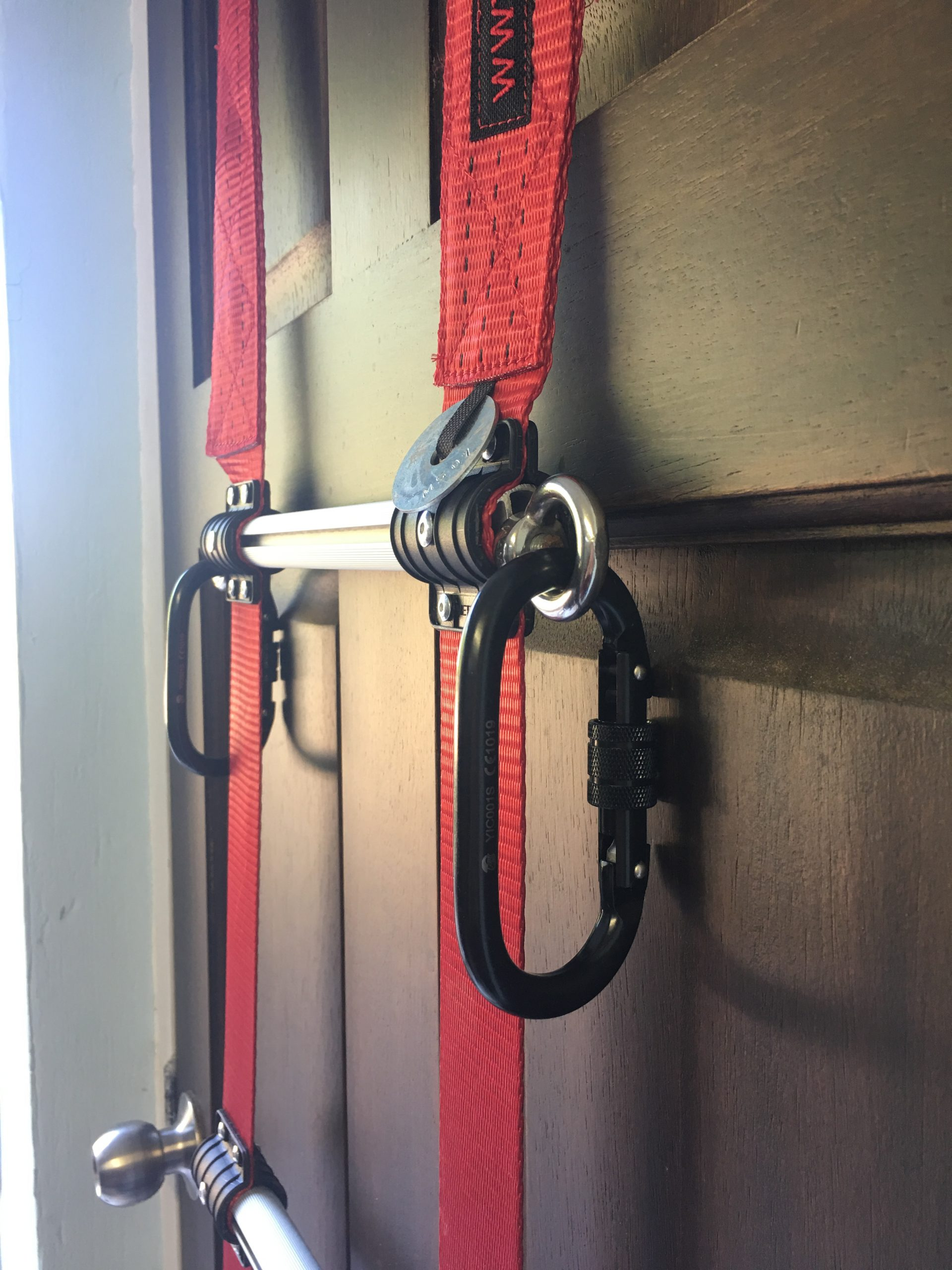 Fire Retardant Rope Ladder with Carabiners